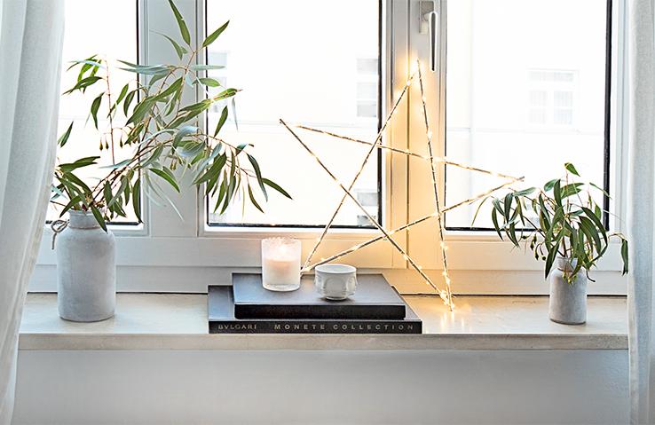 DIY: Świecąca gwiazdka
