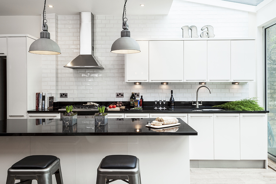 nowoczesna i czysta kuchnia