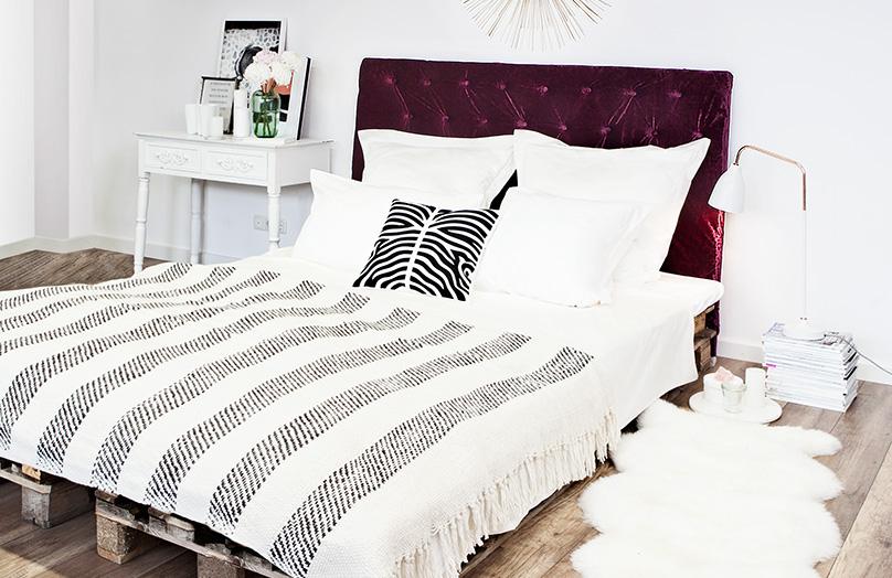 DIY: Jak zrobić pikowany zagłówek do łóżka
