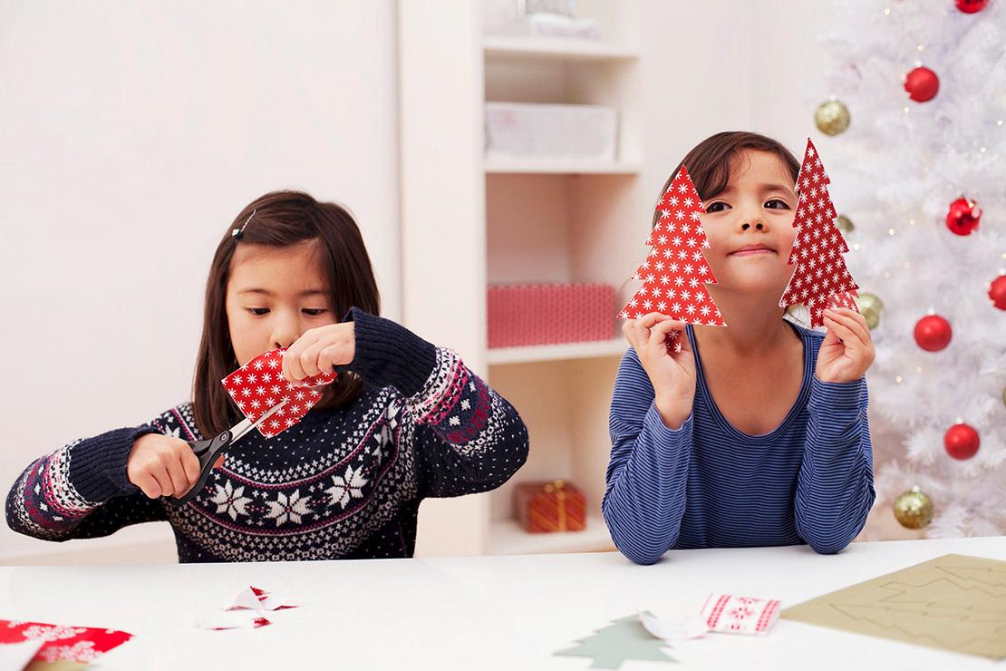 czym zająć dzieci przed świętami