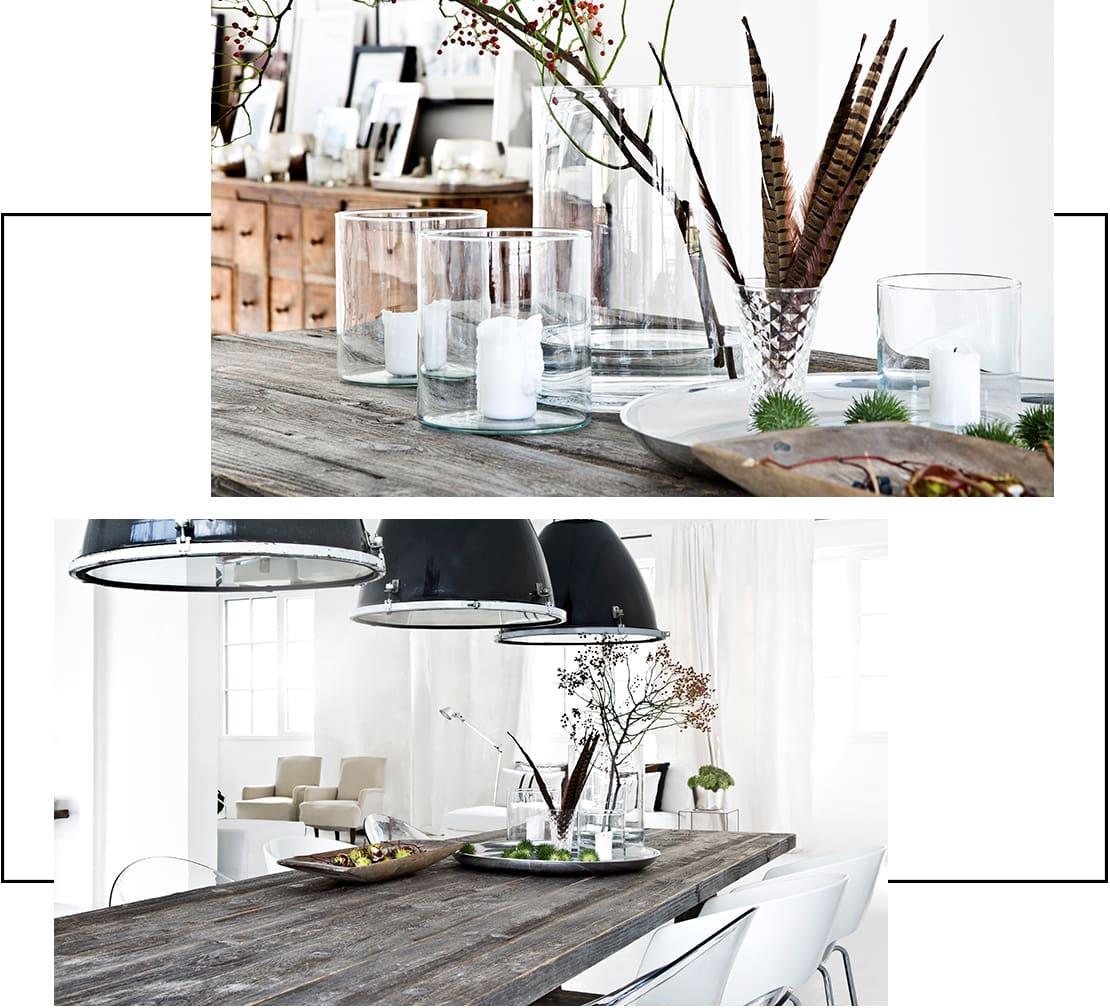 stół w stylu industrialnym