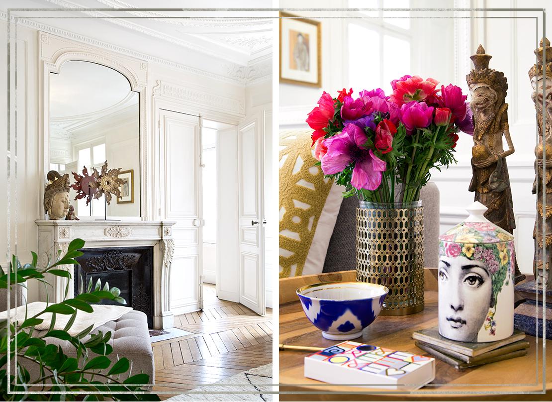 inspiracje: mieszkanie w Paryżu