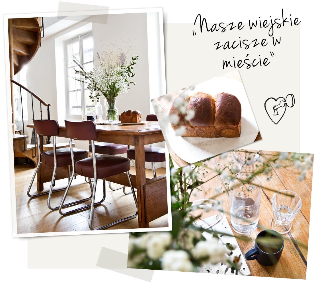 wiejskie meble w nowoczesnym domu