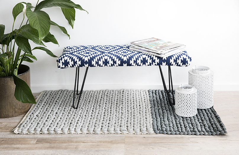 DIY: Ławka z obiciem