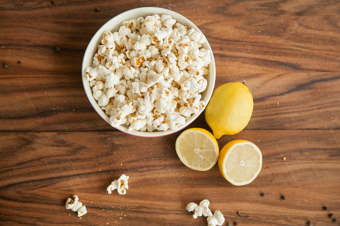 przepis na cytrynowy popcorn