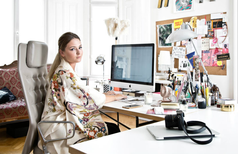Eklektyczne mieszkanie Laury Karasinski