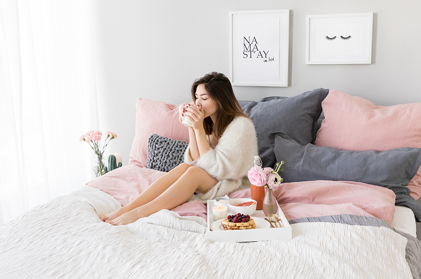 jak spędzić wolny dzień w łóżku