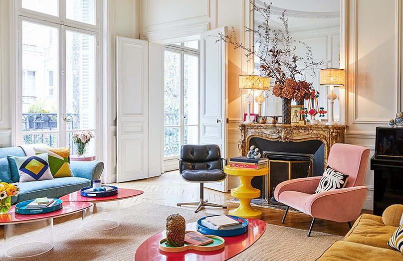 Boho apartament w sercu Paryża