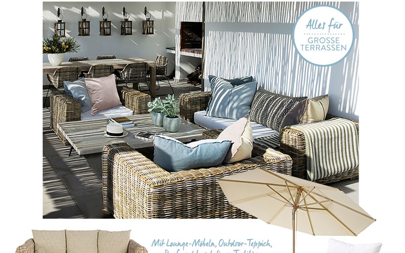Unsere open air stars f r kleine balkone und gro e for Westwing home and living