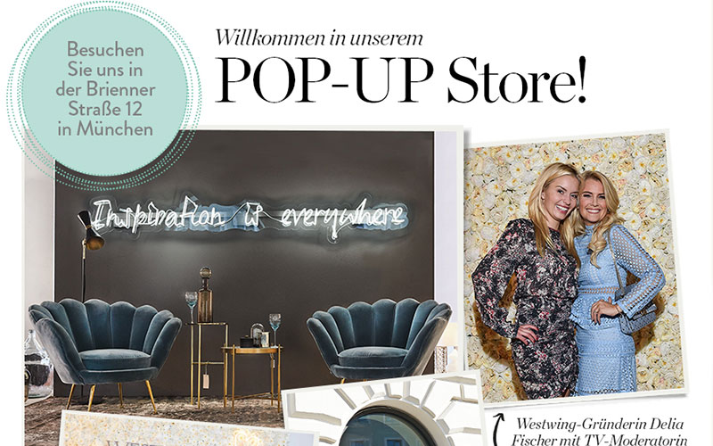 exklusiv entdecken sie lena gerckes lieblingsst cke aus unserem neuen pop up store westwing. Black Bedroom Furniture Sets. Home Design Ideas