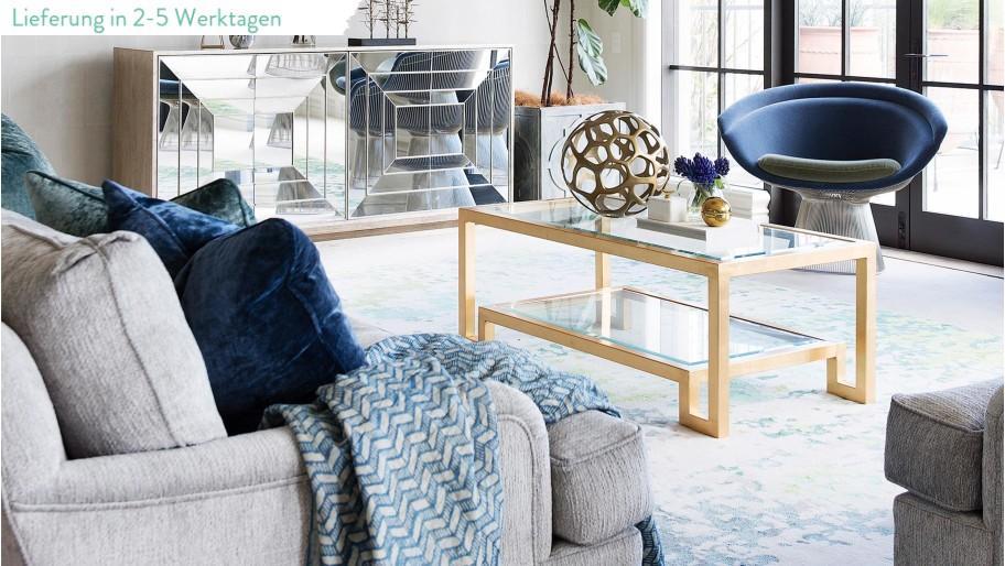 zeit f rs teppich umstyling farb trend rauchblau trifft gold dinner mit freunden. Black Bedroom Furniture Sets. Home Design Ideas