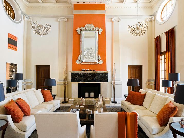 Interior in Signature-Orange