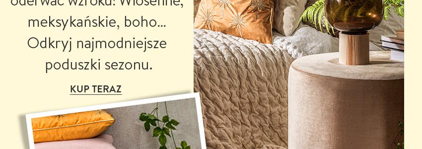 Odkryj modne poduszki
